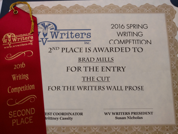 WV Writers Award